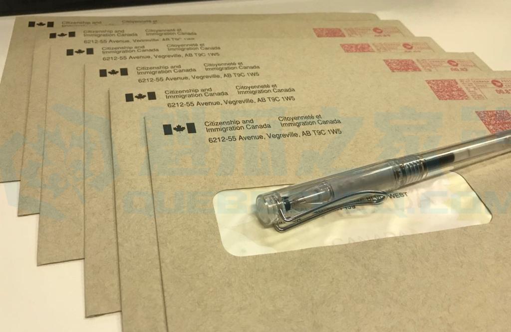 我们保证每一份学签申请都会由加拿大境内审理并邮寄,而并非邮寄至洛杉矶。